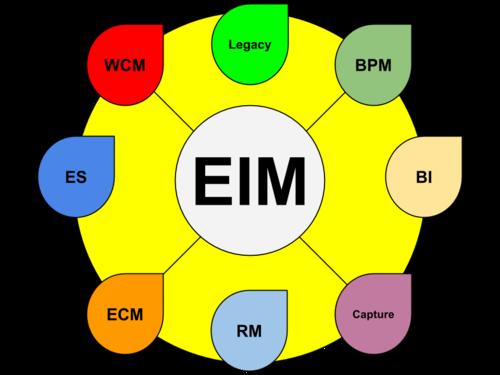 Enterprise Information Management diagram