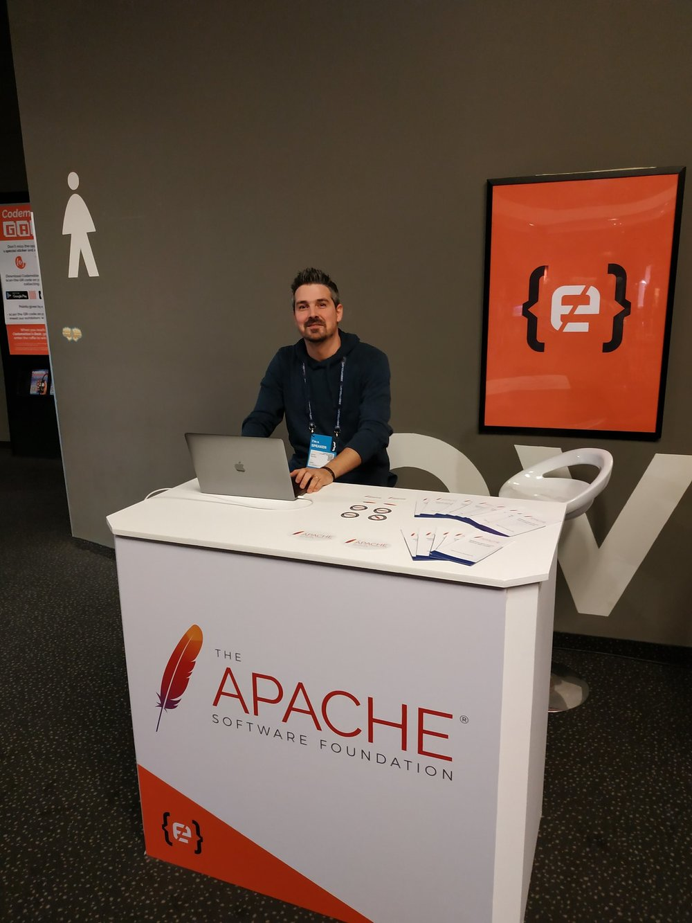 Ignasi at our ASF booth