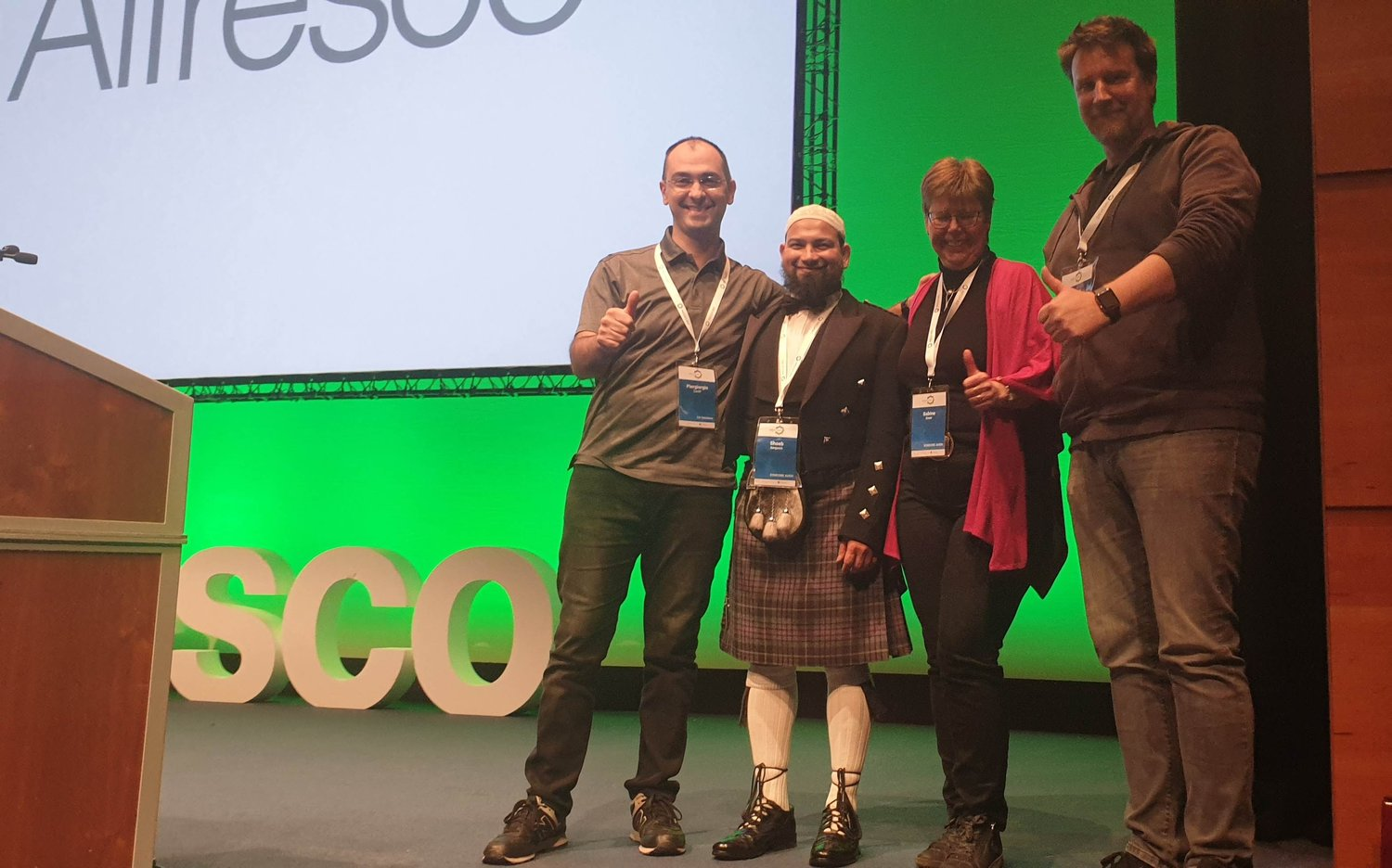 Alfresco DevCon 2019: giving training, speaking and contributing