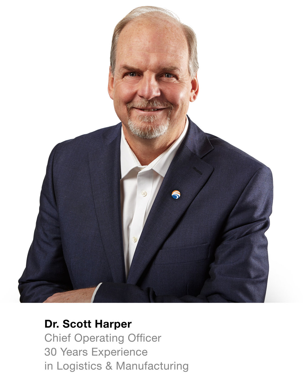 Dr. Scott Harper CEO  30 Years Experience in Logistics & Manufacturing