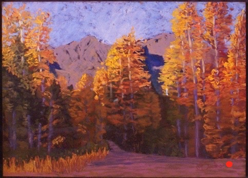 Colorado Gold, Pastel, 24Hx36W, SOLD