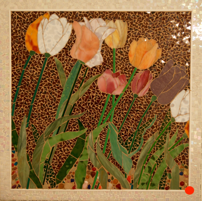 Dutch Spring, Mosaics, 20Hx20W, SOLD
