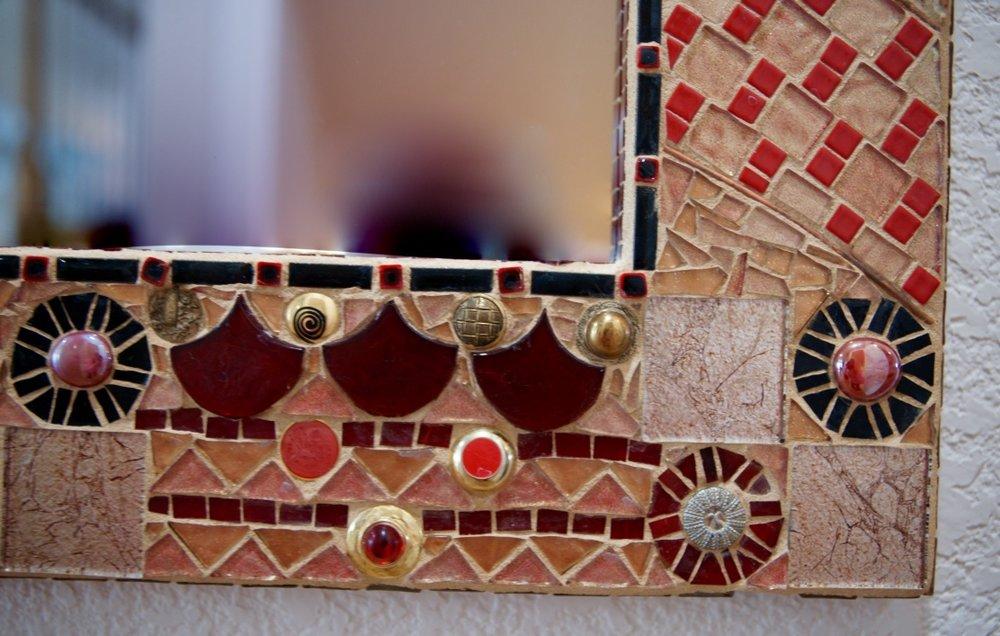 Detail of Mirror Frame