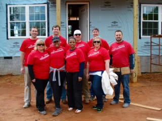 - Wells Fargo Volunteers ready for a day of work