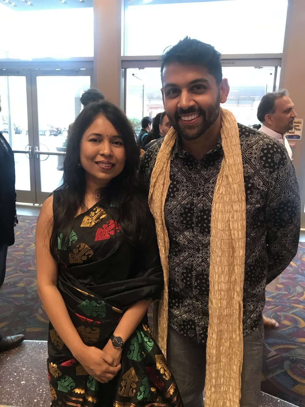 Me with the award-winning Director Rima Das