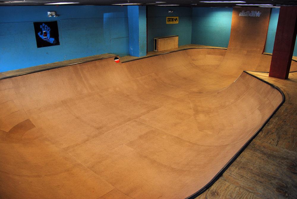 Point Skate Shop's Indoor Bowl