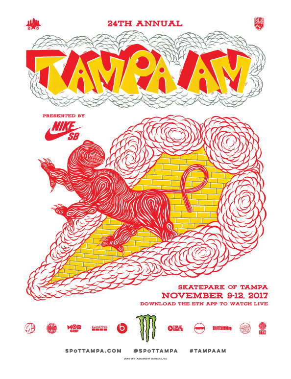 Tampa Am Final Poster