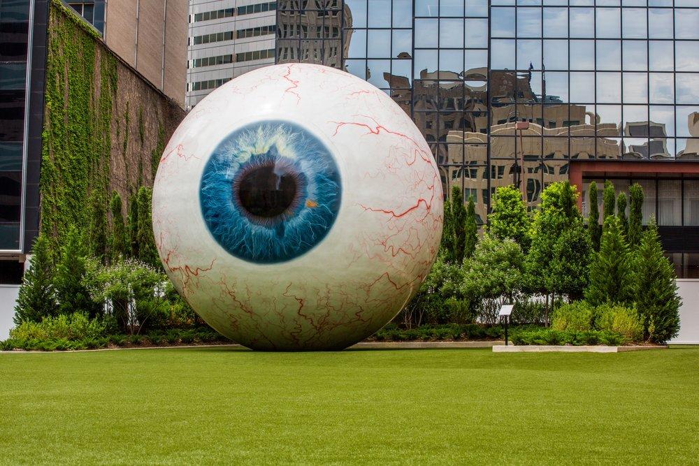Eyeball at Joule Hotel