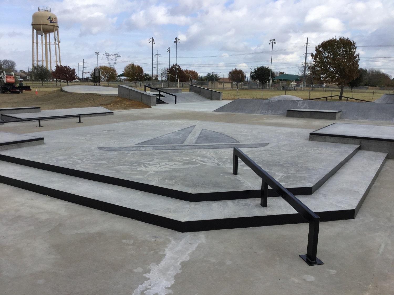 The Colony Skatepark Goes Concrete — Skate Parks for Dallas