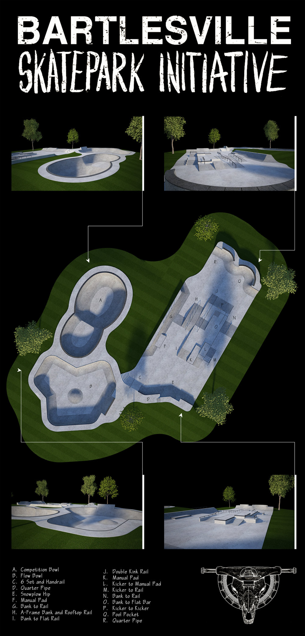 Bartlesville Skatepark Final Design