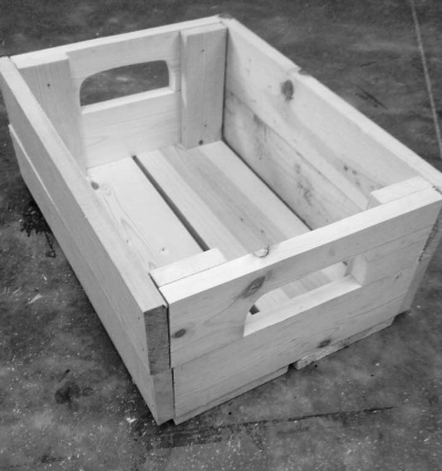 The crate that inspired an idea!