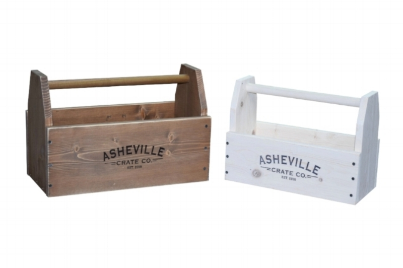 wooden crate, asheville crate company, garden crate, shoebox,