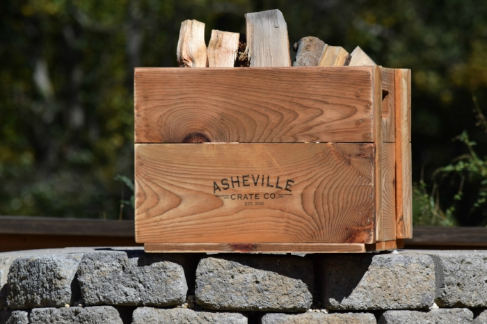Big daddy, Asheville Crate Company, Big Daddy, Asheville Crate Company, custom engraved crates, vintage crates, farmhouse crates, storage crates