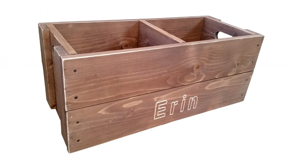 Asheville Crate Company, toy box, toy crates, custom crates, personalized crates, custom engraved crates