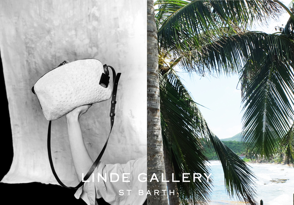 Linde Gallery  The LINDE GALLERY collection of beach & travel totes began with a single bag in genuine leather. It is large enough to carry all ones essentials with intelligent simplicity – no logo nor exterior symbol - simply timeless. With this initial bag, the collection evolved organically and has been slowly growing remaining true to its origin: responding to the needs of contemporary nomadic lifestyle with versatile items, accompanying travelers at heart whether through the 'urban jungle' or on a long journey. Made from the finest Italian leathers, handcrafted in France.