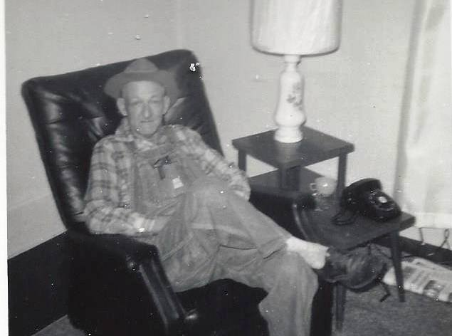 Sam Galloway in the 1970's      (family archive photo)
