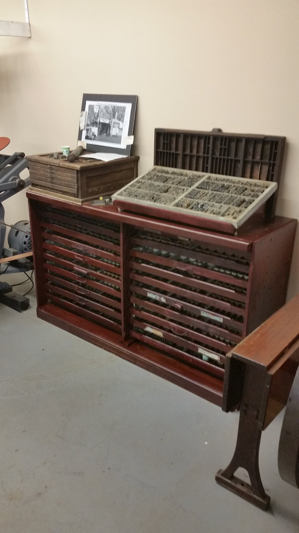 A new type cabinet was built
