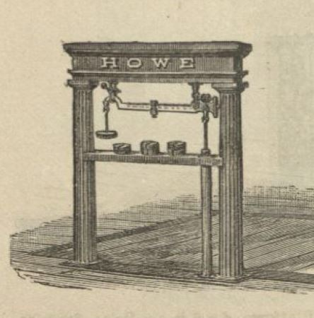 Image from the 1888 Howe Scale Company Catalog