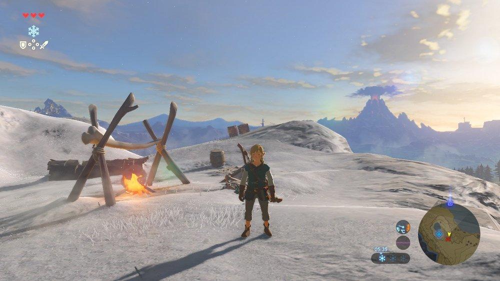 Zelda: Breath of the Wild (Nintendo Switch)