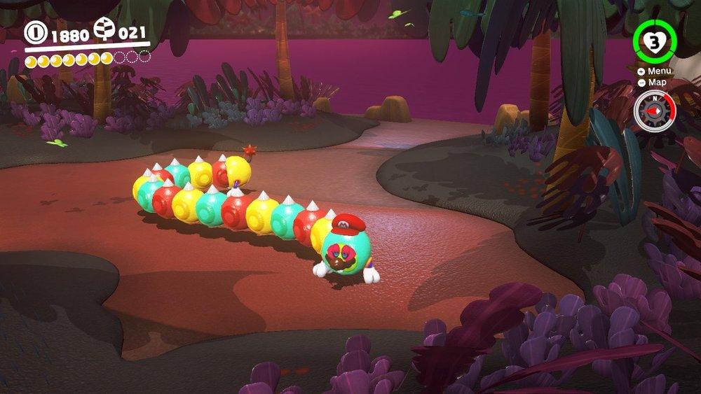 Tropical Wiggler - Super Mario Odyssey