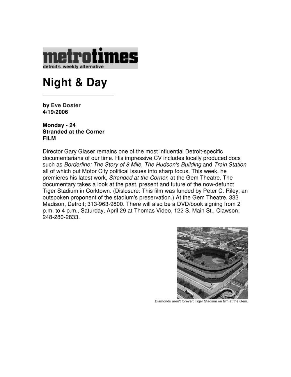 Metro Times -Detroit