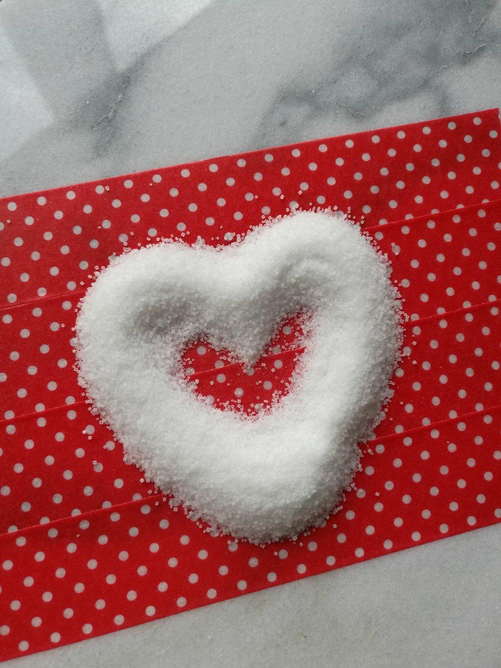 Zucker Herz sugar heart