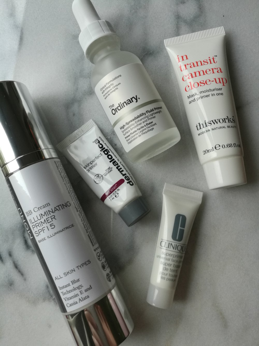 Face Primer Clinique Thisworks MONUSKIN Dermalogica The Ordinary best products make up