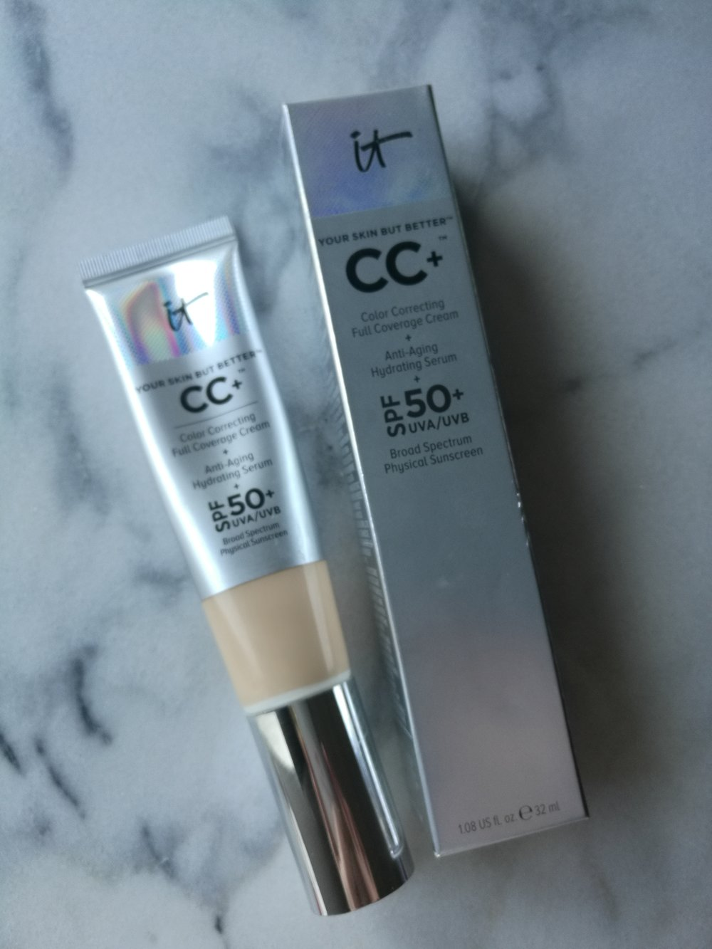 it cosmetics CC Cream foundation makeup medium coverage moisturizer beauty