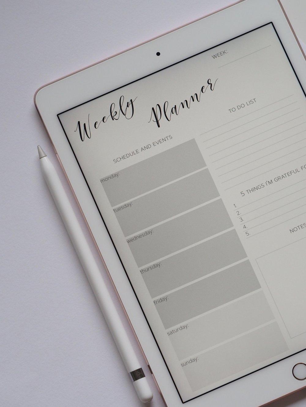 planung-organisation-ipad-planner-work-Arbeit