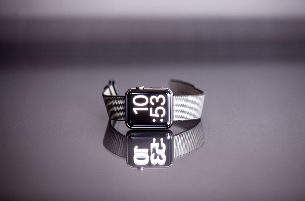 time-clock-Zeit-Uhr-planen-tisch-table-applewatch
