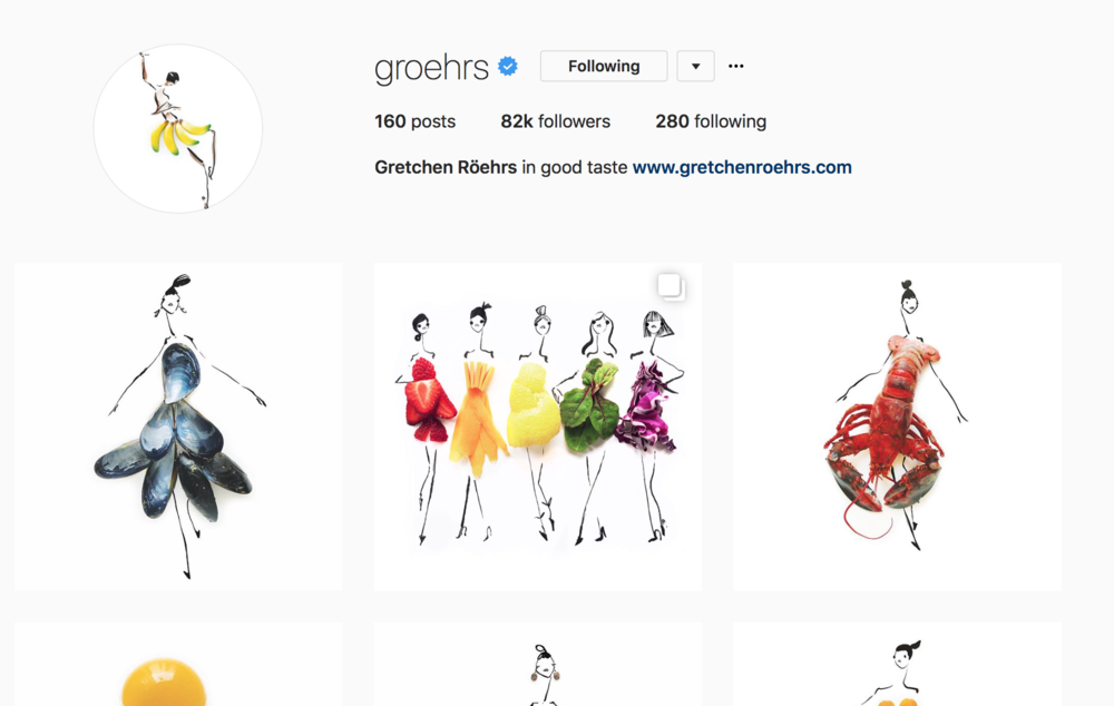 Follow Gretchen  on Instagram