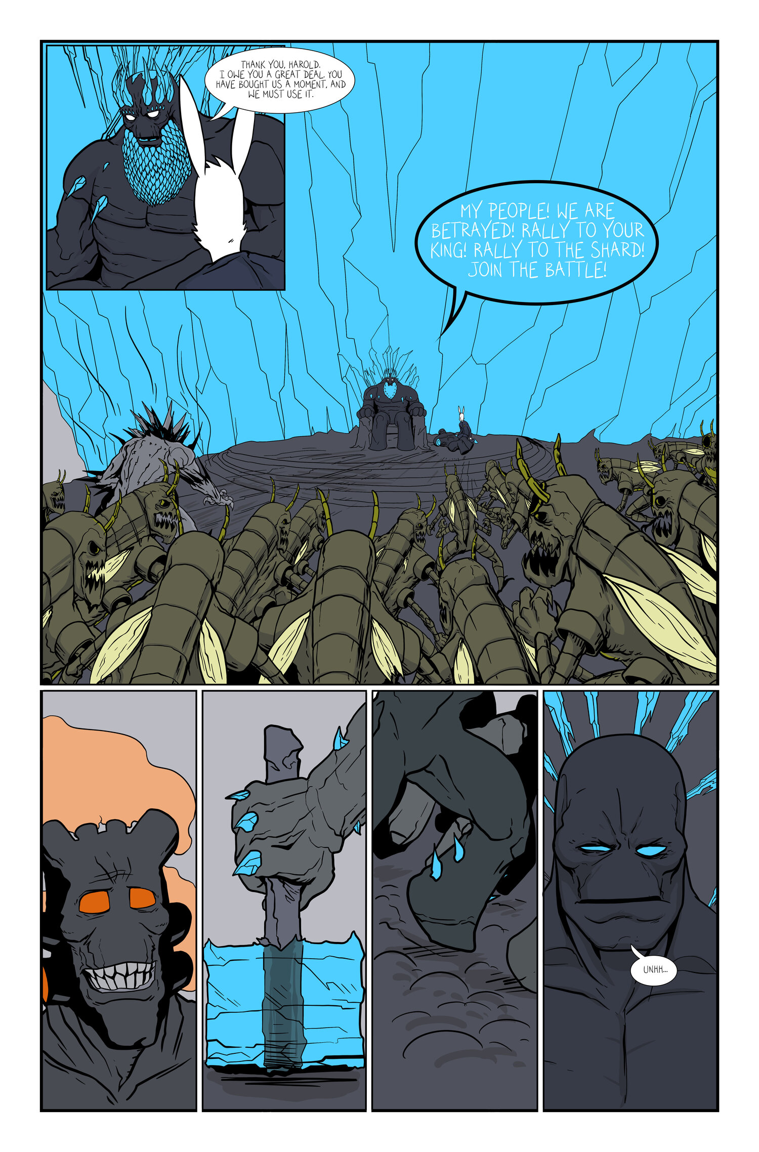Page/125 >> Harold The Monster Page 125 Harold