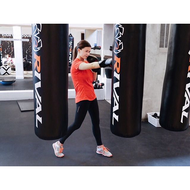 Boxing is what you need. Trust me, I just know. Come try it with me at @boloinc by @caleighfit for free - use promo code ONEFREE 🛍 (code is valid until January 31st) #boloto #boxing #knixxbolohouse #boloinc #peerbolo