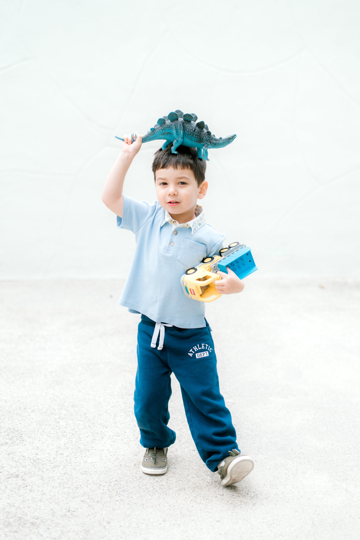 Boys Polo Shirt Les Petits Animaux Little Blue Fairy