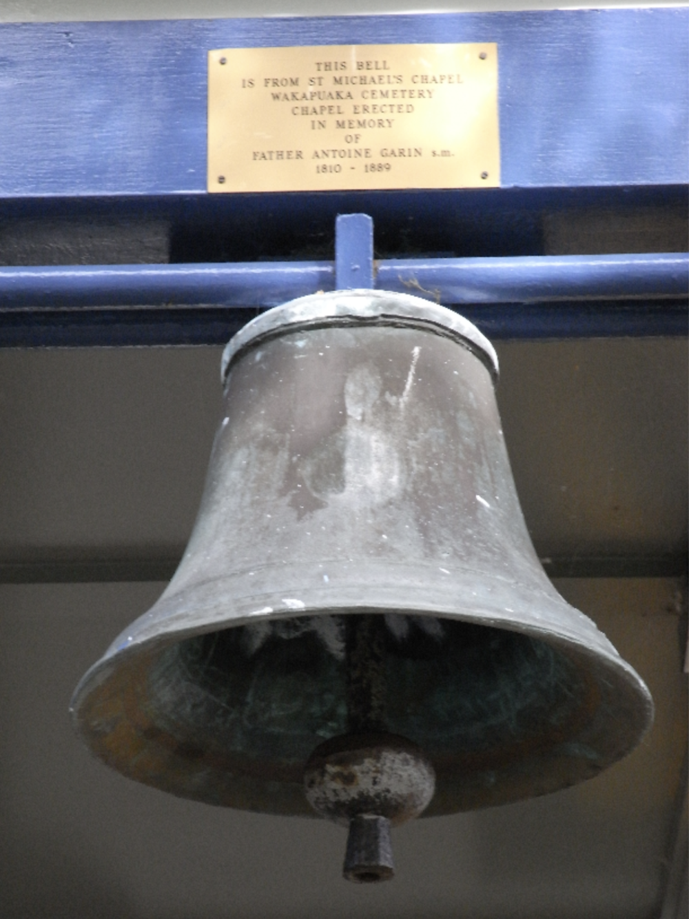 1867 - THE FIRST CHURCH BELL