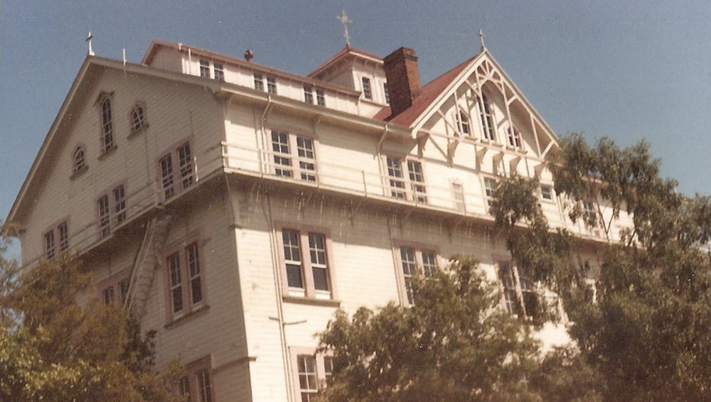 SACRED HEART, LATER PART OF REDWOOD COLLEGE, NELSON