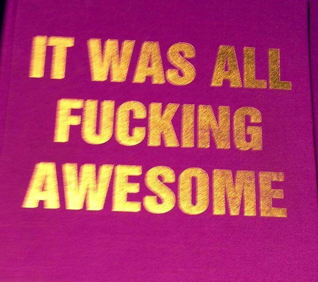 It was...