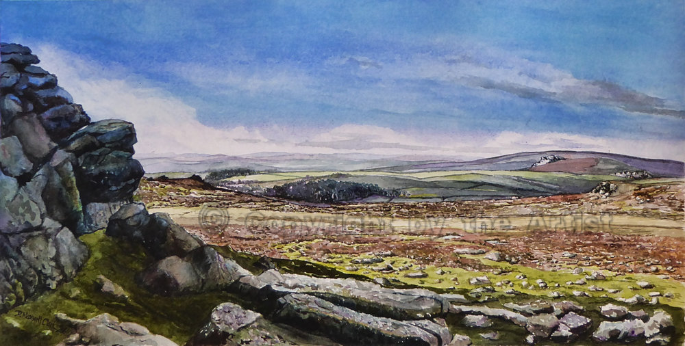 Towards the West from Haytor