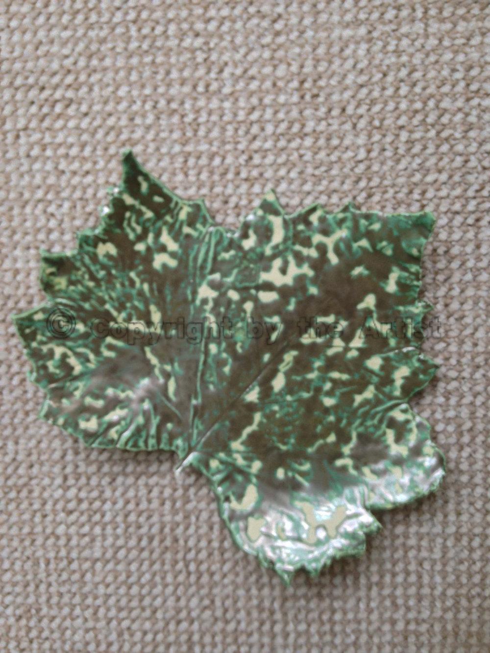 Leaf 24 - Spotted Verdigris