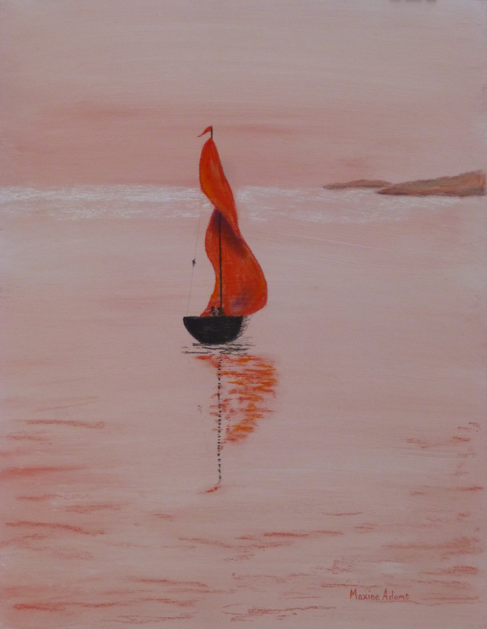 Red Sails - Maxine Adams