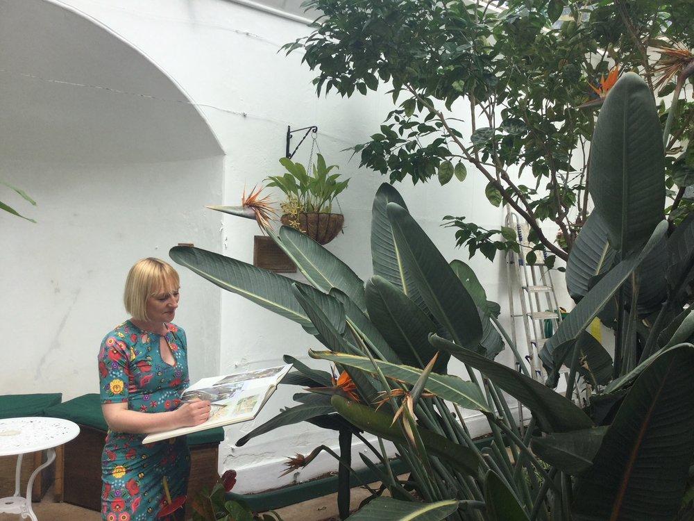 Clare Jenkinson-Teignmouth  Orangery2.JPG