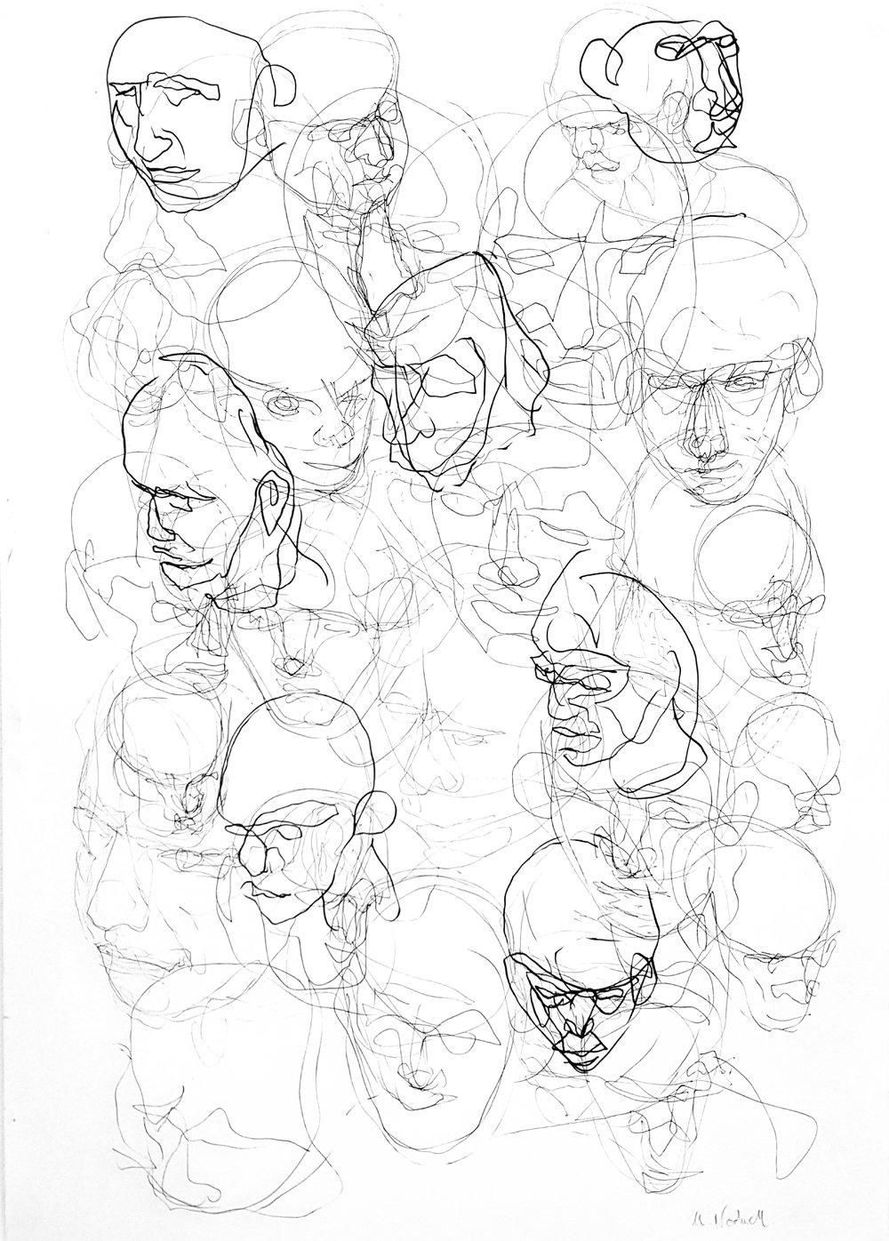 Mask IIII, Marcus Nodwell, Multimedia Art Show.jpg