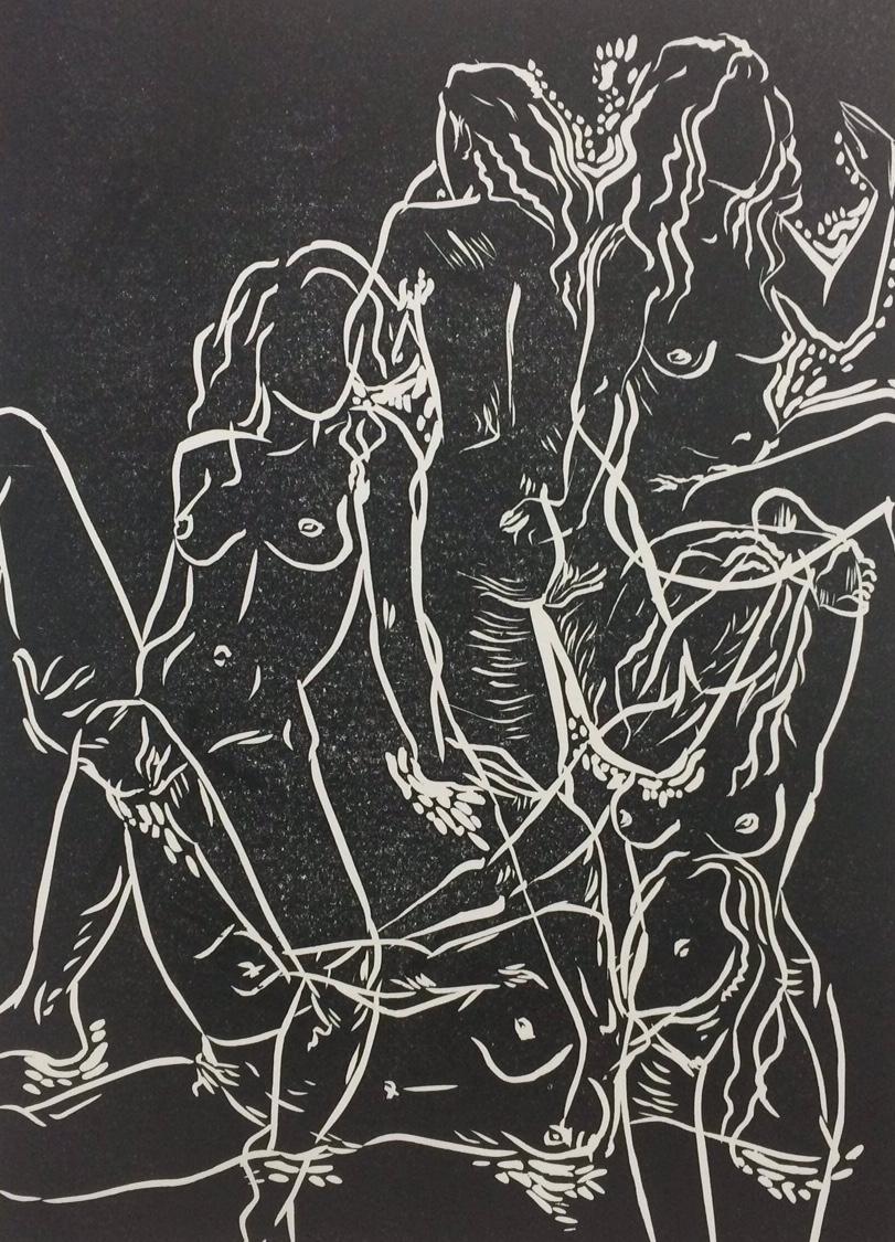 Feminine wiles, Danni Thurley, Multimedia Art show.JPG