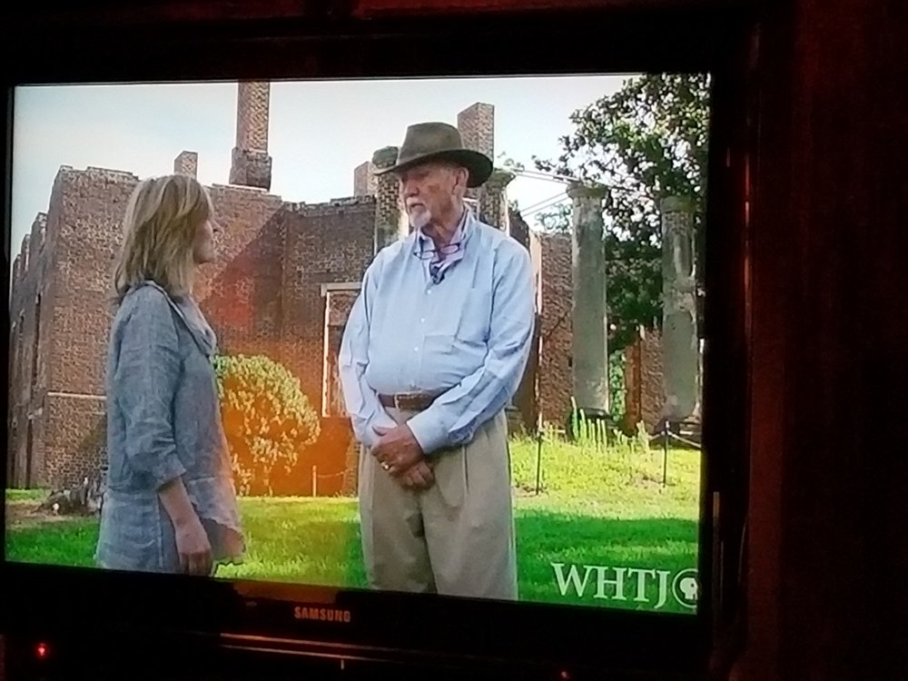 - Charlottesville Inside Out -With a backdrop of the famous Barboursville ruins, see the interview withTerri Allard on the genesis of the book - Ruins in Virginia and the impact of vanishing history on us all.Henry Browne (Vanishing History: Ruins in Virginia) and Terry Allard (Host and Producer of CVIO)