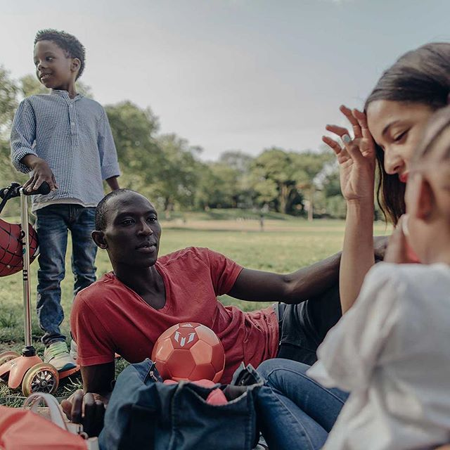 Happy Father's Day! Check out our story with model and footwear designer @armando_cabral and his beautiful family @everythingkrys playing soccer in the park.  Who's winning the World Cup? We're rooting for the @ng_supereagles and their amazing jerseys 📸 @sashafoto