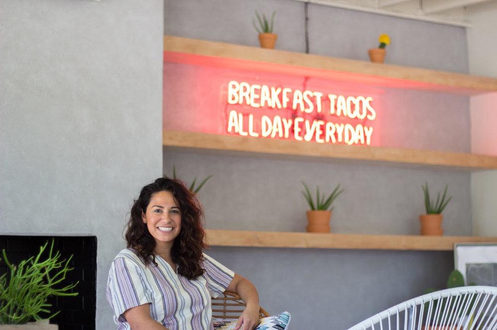 TACO HEADS founder Sarah Castillo, Henderson Ave, Dallas