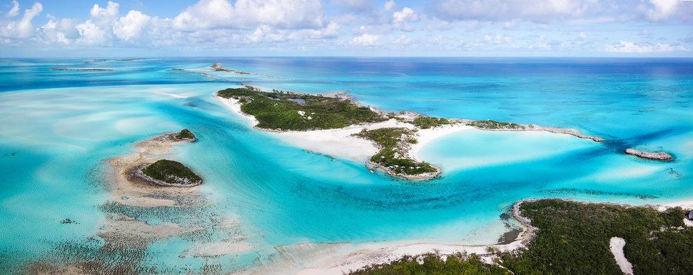 Exuma Bahamas Aerial Drone Saddleback Cay Island World Adventures Sky Sandbar Ocean Landscape Copyright 2018.jpg