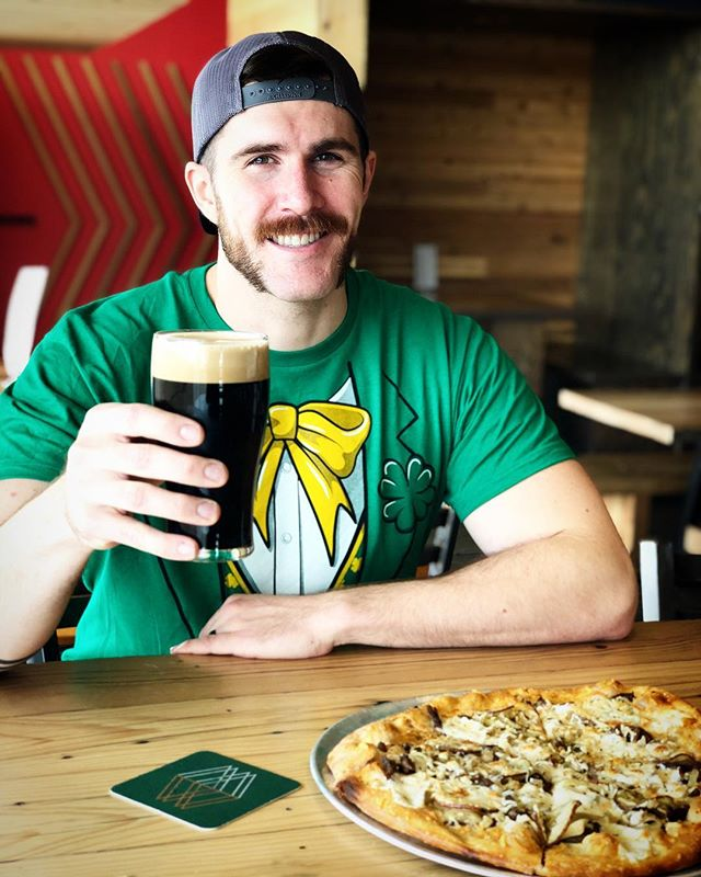 Join us today for St Patrick's Day Celebrations. We've got a large selection of craft beer and a pizza Special too! If you haven't heard the great news yet, our Junegrass Northwest IPA is back on tap!  #stpatricksday #stpattysday #montanalife #bozeman #mountainswalking