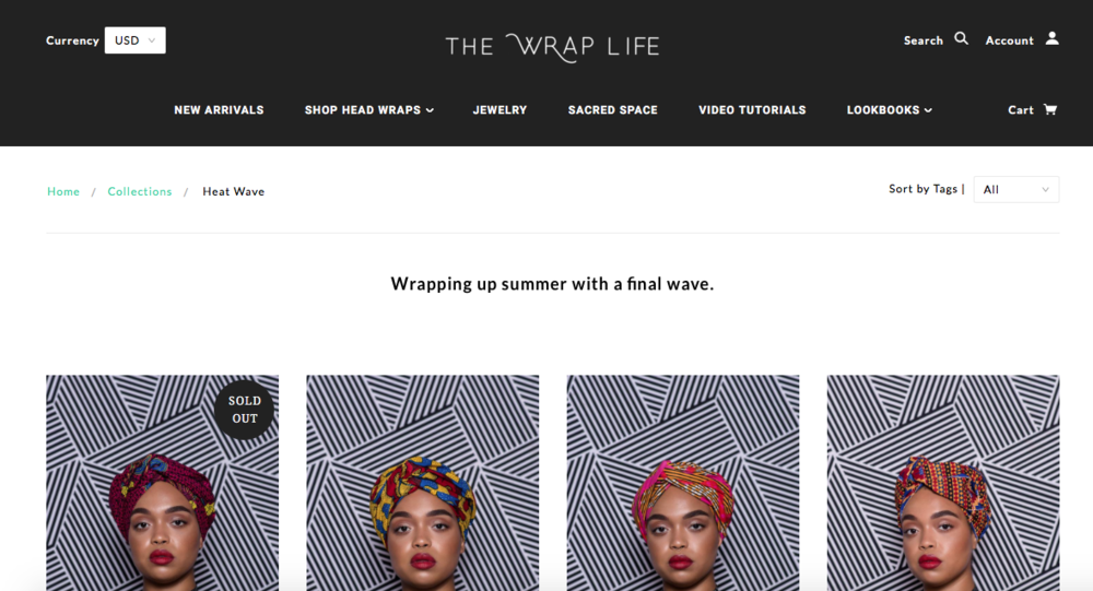 The Wrap Life    Head wraps and African expired jewelry