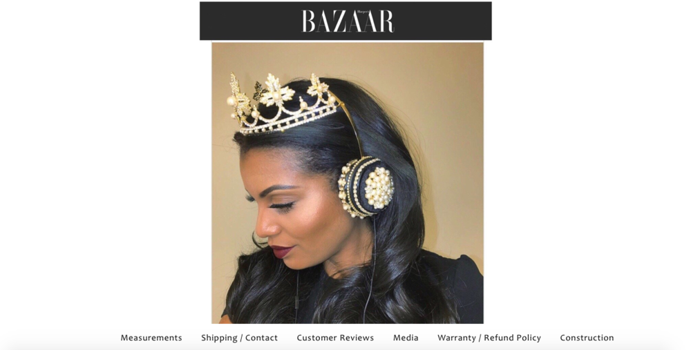 Lit Headphones    Customized headphones that look like you're wearing a crown